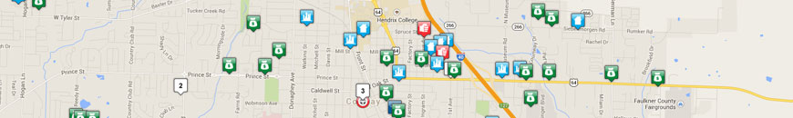Home - Conway Police Department Map Of Greensboro Nc Police Districts on